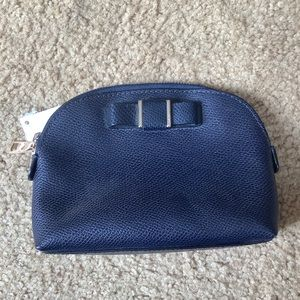 Coach NWT Navy Blue Cosmetic Bag